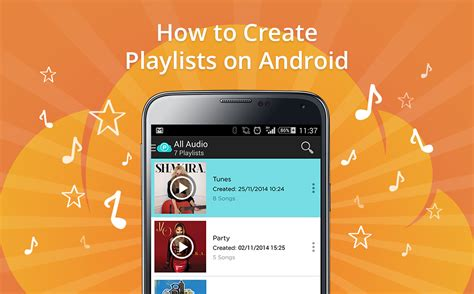 how to customize android how to create playlists on android the pcloud