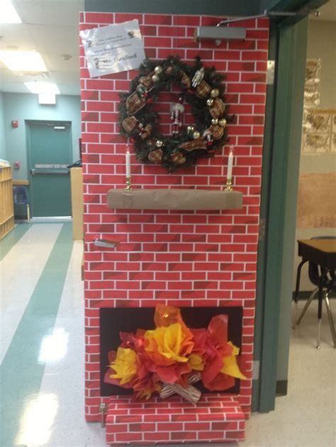 3d christmas door decoration awesome 3d door classroom