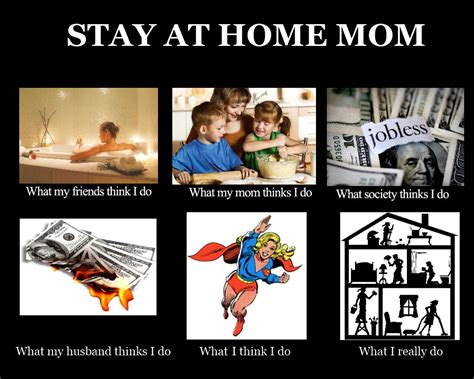 Funny Mom Memes - image 250828 what people think i do what i really