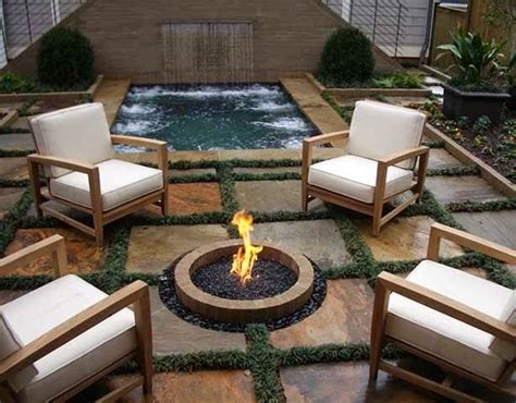 Outdoor Fire And Patio Via Barkley Landscapes Amp Design Group Outdoor Space
