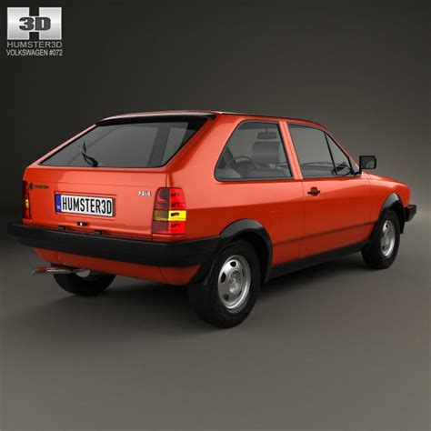 volkswagen coupe models volkswagen polo coupe 1990 3d model cgstudio