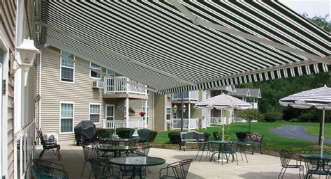 large awnings the total eclipse commercial retractable awning eclipse