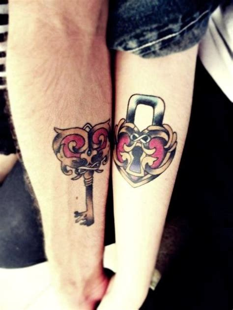 heart and key tattoo designs for couples 12 stylish arm designs pretty designs