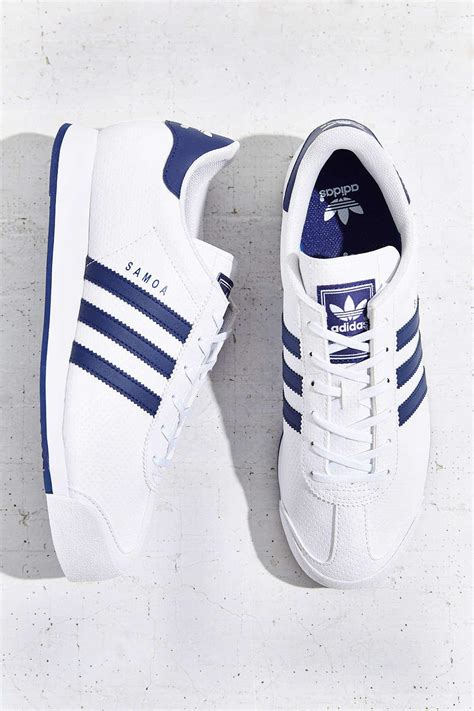 adidas originals samoa blue stripe from outfitters