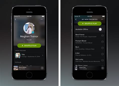 on iphone spotify adds carplay support in ios update macrumors