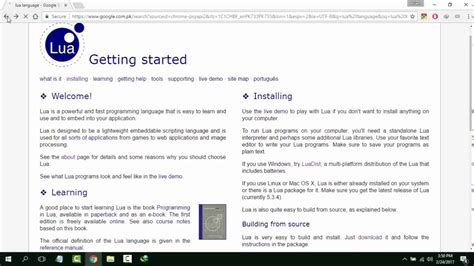 windows 10 tutorial in urdu how to install lua on windows 10 urdu tutorial youtube