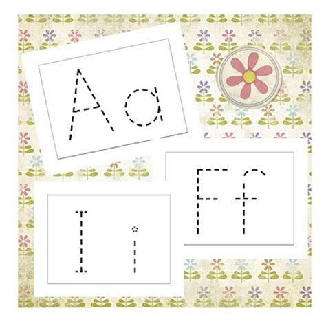 printable tracing alphabet cards 266 best images about preschool writing on pinterest the