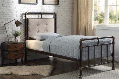 Scaffolding Bed Frame Oxford Industrial Scaffold Pipe Style Black Metal Bed Frame Price Beds