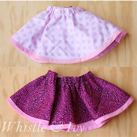 Rok And Bab Stitching Woven Skirt baby skirt skirts and beginner sewing projects on