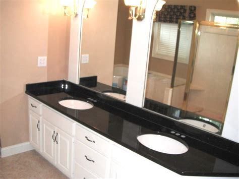 black granite countertops in bathroom charlotte black galaxy bathroom traditional with granite