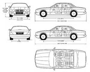 Jaguar Dimensions Car Blueprints Jaguar