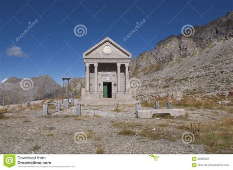 alpine chapel stock photo image 60685252