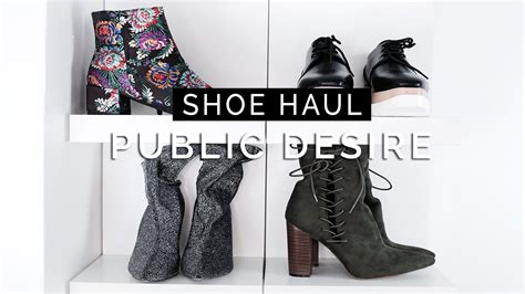 shoe haul winter shoe haul desire