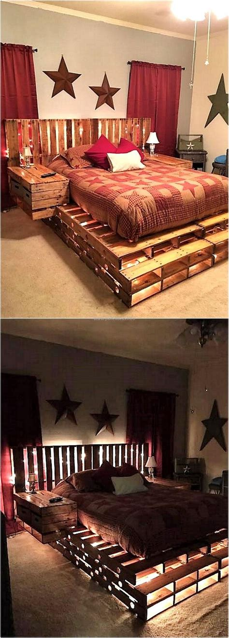 shipping pallet bed 25 best ideas about pallet beds on pinterest diy pallet