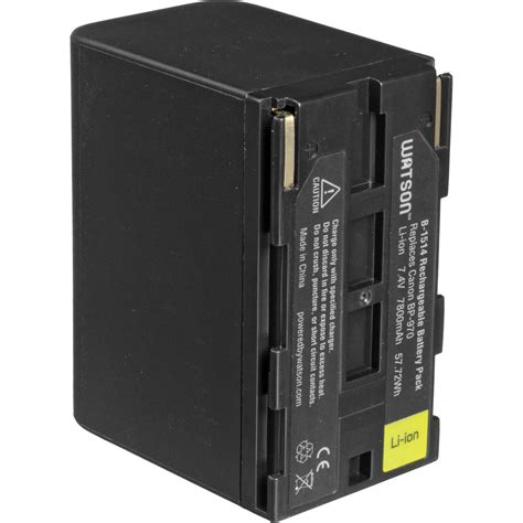 Canon Bp A30 Battery Pack watson bp 970 lithium ion battery pack 7 4v 7800mah b 1514
