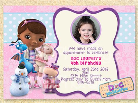 free doc mcstuffins invitation templates doc mcstuffins birthday invitation printable doc mcstuffins