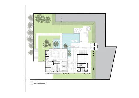 casa clementi floor plan botucatu house fgmf arquitetos archdaily
