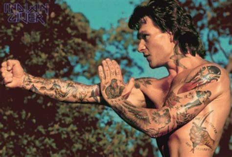 film stars tattoos 10 classic film characters with badass body art metro news
