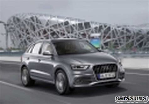 Audi Q3 Germany by 2018 2019 Audi Q3 German Compact Crossover New Cars