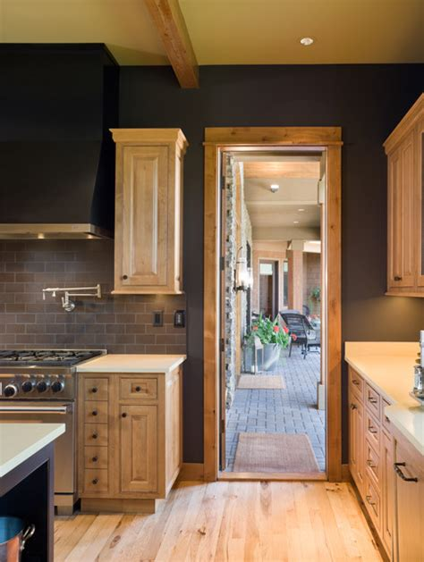true residence rustic kitchen portland  alan