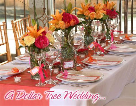 Dollar Tree Decorating Ideas by Wedding Ideas From The Dollar Tree Wedding Flowers