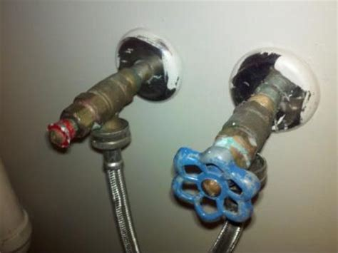Leaking Washing Machine Faucet by Washing Machine Supply Valve Won T Shut