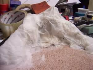 How To Make A Paper Mache Mountain - phantomplamo february 2011