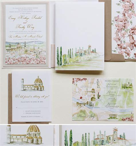 Wedding Invitations Watercolor by Watercolor Wedding Invitationsmomental Designs