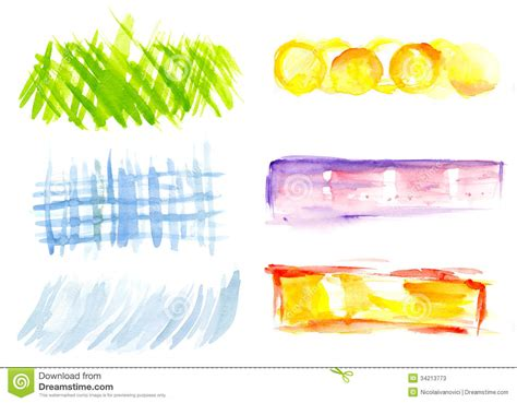 design elements watercolor watercolor design elements stock photos image 34213773