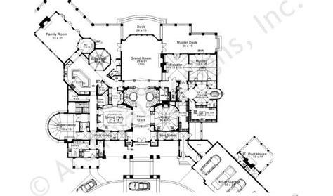eplans chateau house plan grand manor 8126 square feet karol wood house plan first floor plan floor plans