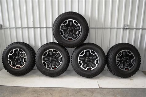stock jeep wheels and tires 2015 stock rubicon tires html autos post