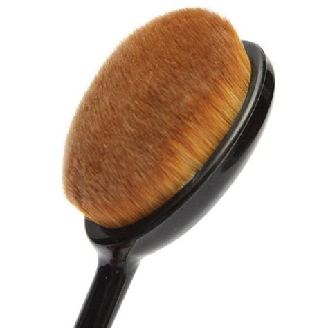 Oval Brush Oval Make Up Brush sale 1pcs random color new cosmetic brush base oval brushes tools cc2634 in makeup