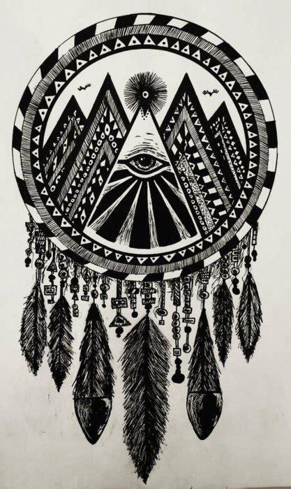 dreamcatcher tattoo hipster eye in dream catcher tumblr