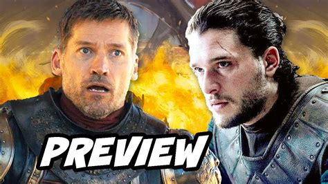 Cycle 8 Preview by Of Thrones Season 8 Jaime Lannister Preview Breakdown
