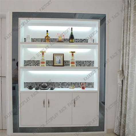 Wall Curio Display Cabinet Direct Supply Simple Living Room Showcase Design Wood