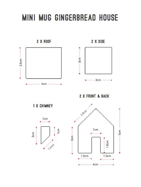 mini gingerbread house template 1000 ideas about gingerbread house template printable on