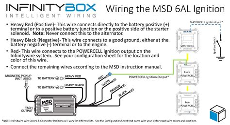 wiring the msd ignition system infinitybox