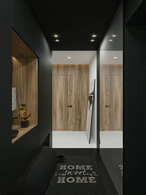 black and white contemporary interior design ideas for black and white interior design ideas modern apartment by id white architecture beast