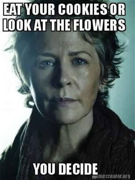 Walking Dead Carol Meme - 606 best the walking dead funny memes season 5 images on