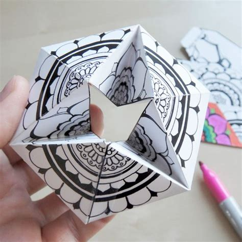Learn Paper Craft - paper toys free printable and how to make your on