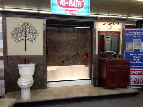 rebath northeast   displays   home shows