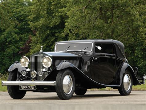 rolls royce phantom ii car interior design
