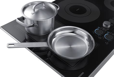 nz36k7880us samsung 36 quot induction cooktop stainless steel trim