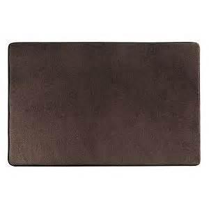 brown memory foam bath mat member s memory foam bath mat brown chocolate