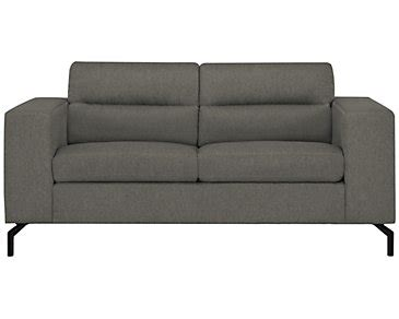 knox upholstery knox sofa knox 2 piece linen look fabric left facing