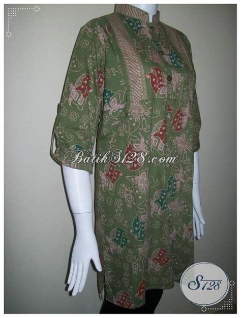 Celana Panjang Batik 117 Ny busana batik hijaber berlengan panjang dan model terbaru