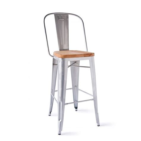 marais bar stool marais a bar stool with wood seat it s hip to be a