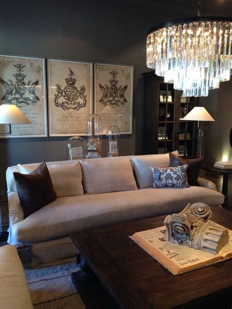 Restoration Hardware Living Room Ideas - 169 best images about restoration hardware on