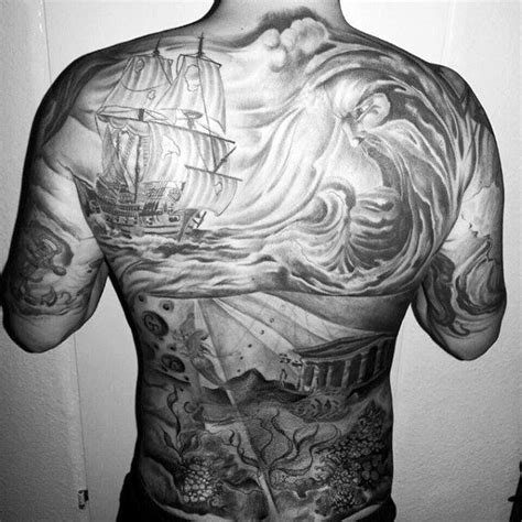 men s full back tattoos 17 best ideas about back tattoos on mens