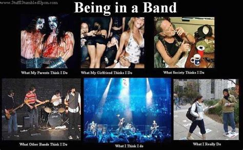 Meme Band - being in a band meme music cartoon pinterest